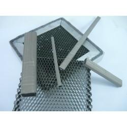 Polycarbonate Maille 35µm sans moire Vitre Blindee CEM EMI