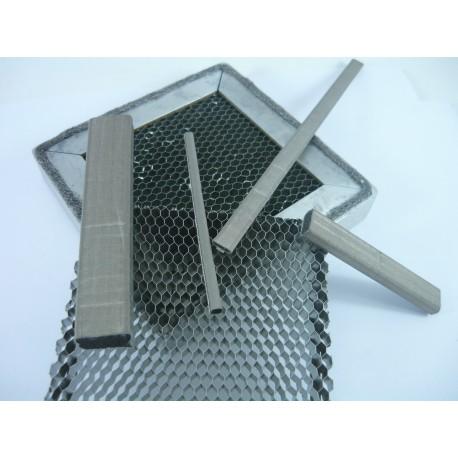 Acrylique micromaille 8µm 85opi Vitre Blindee CEM EMI