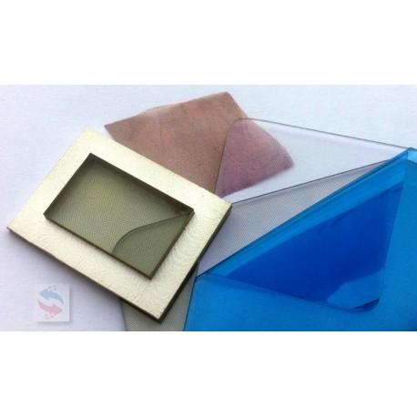 Polycarbonate Maille 50µm 100 opi Vitre Blindee CEM EMI