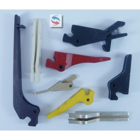 P107-70-3 Guide carte PCB & Ejecteur