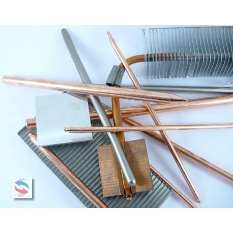 Caloduc Heatpipe Droit Diametre 4mmx150mm