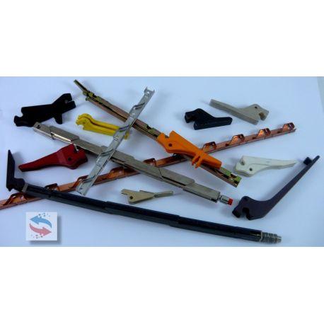MWA225-3,8TM2,5R Guide carte PCB & Ejecteur