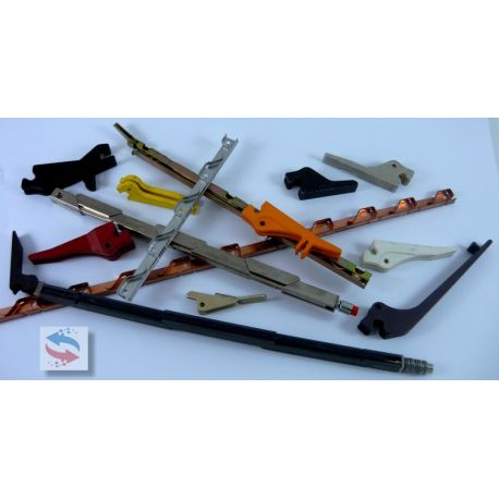 VA260-2,40TM2LK Guide carte PCB & Ejecteur