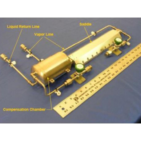 boucle fluide diphasique à pompage thermocapillaire