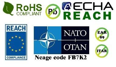 Pb free - Itar free - EAR 99 Free - Quality thermal interface